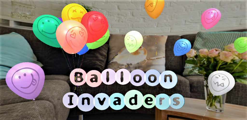 Balloon Invaders Banner